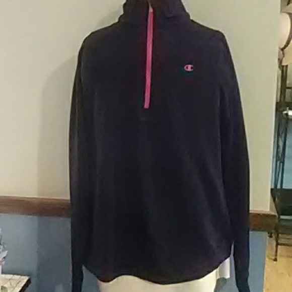 06656b5ec7cf Champions Double dry L Womens pullover half zip on